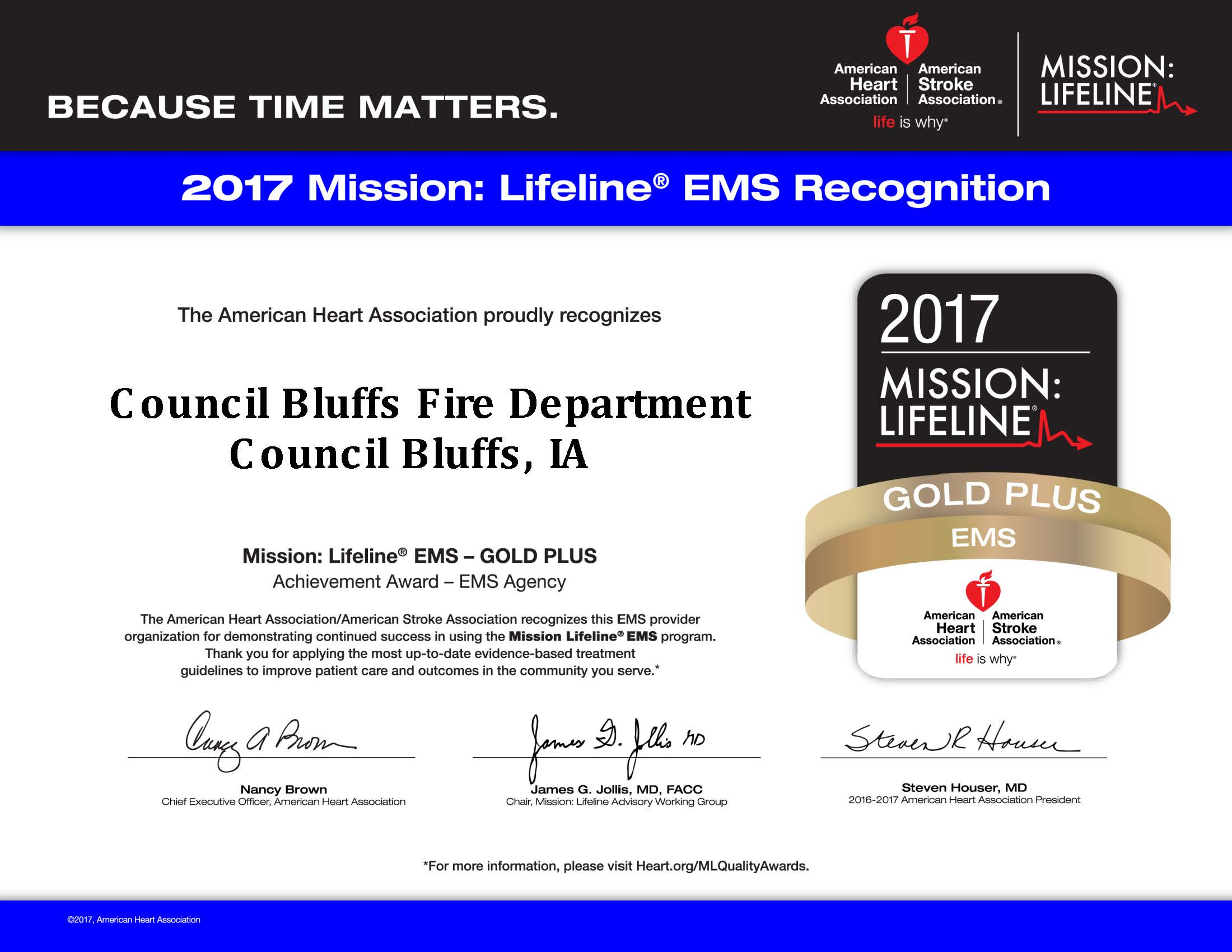 mission of life award