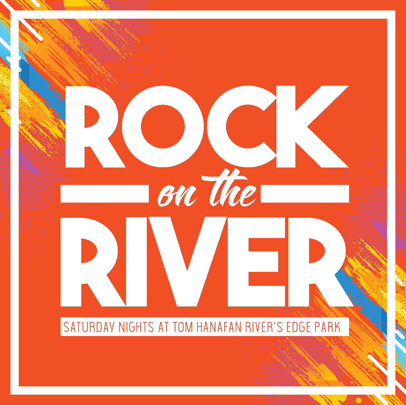 Rock on River Image