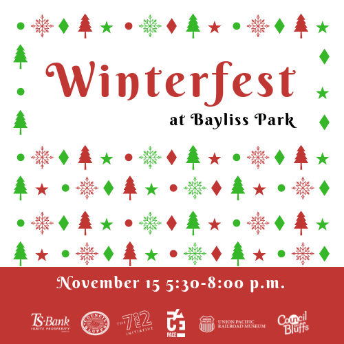 Instagram Graphic Winterfest at Bayliss Park