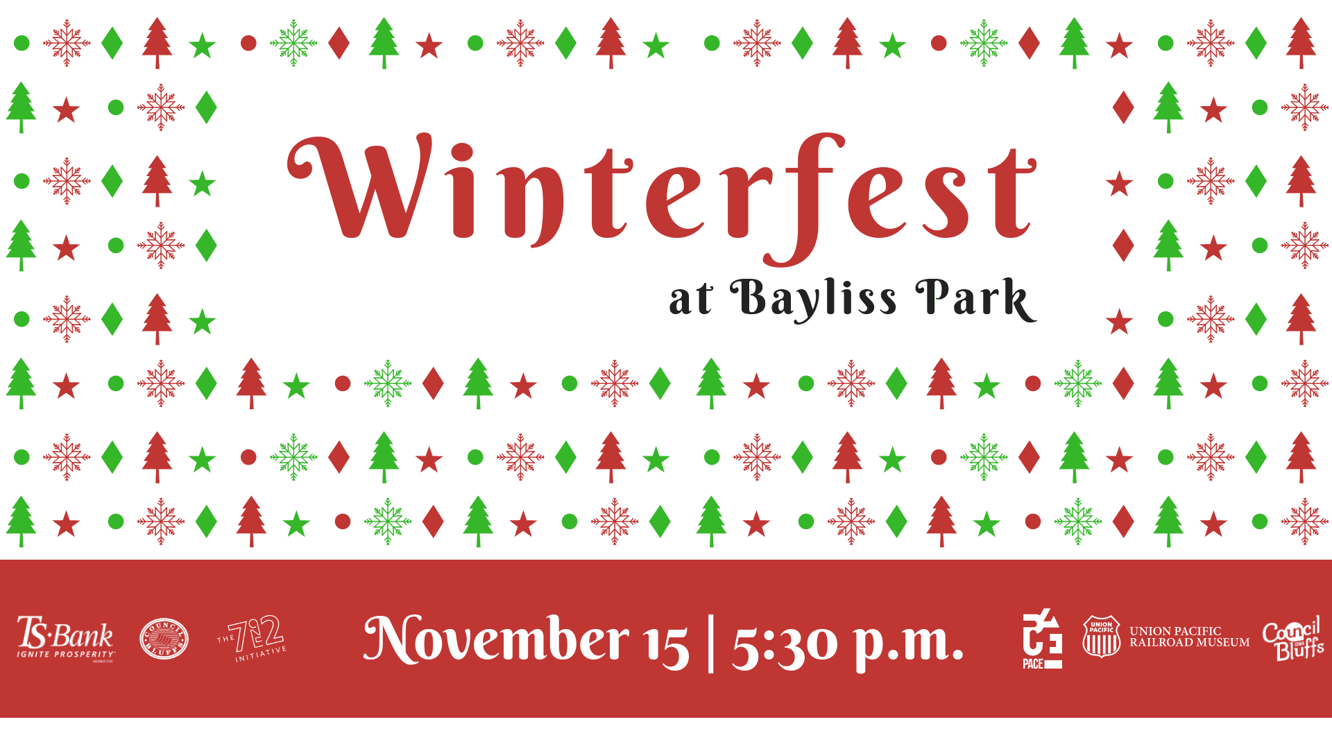 Facebook Event Cover Winterfest at Bayliss Park