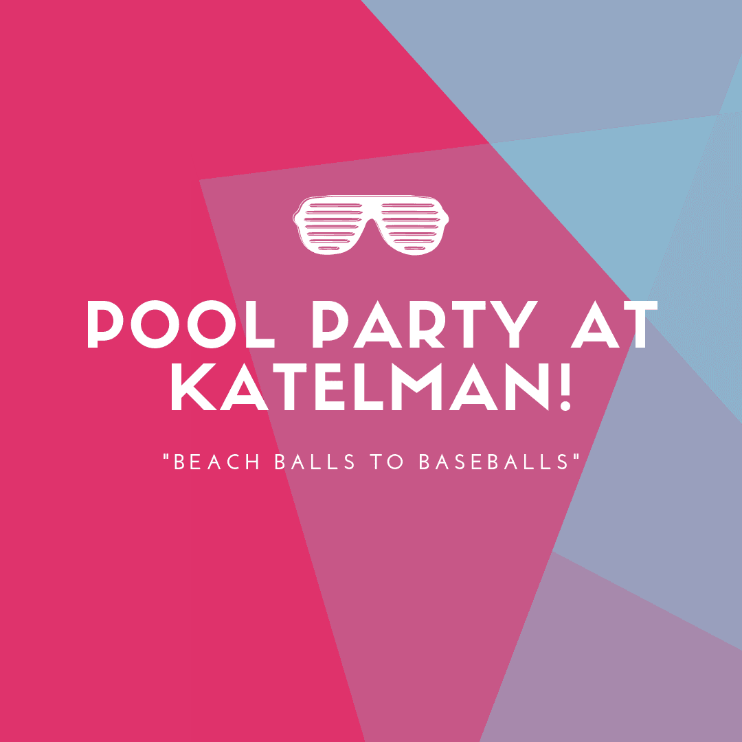 Pool Party at Katelman!