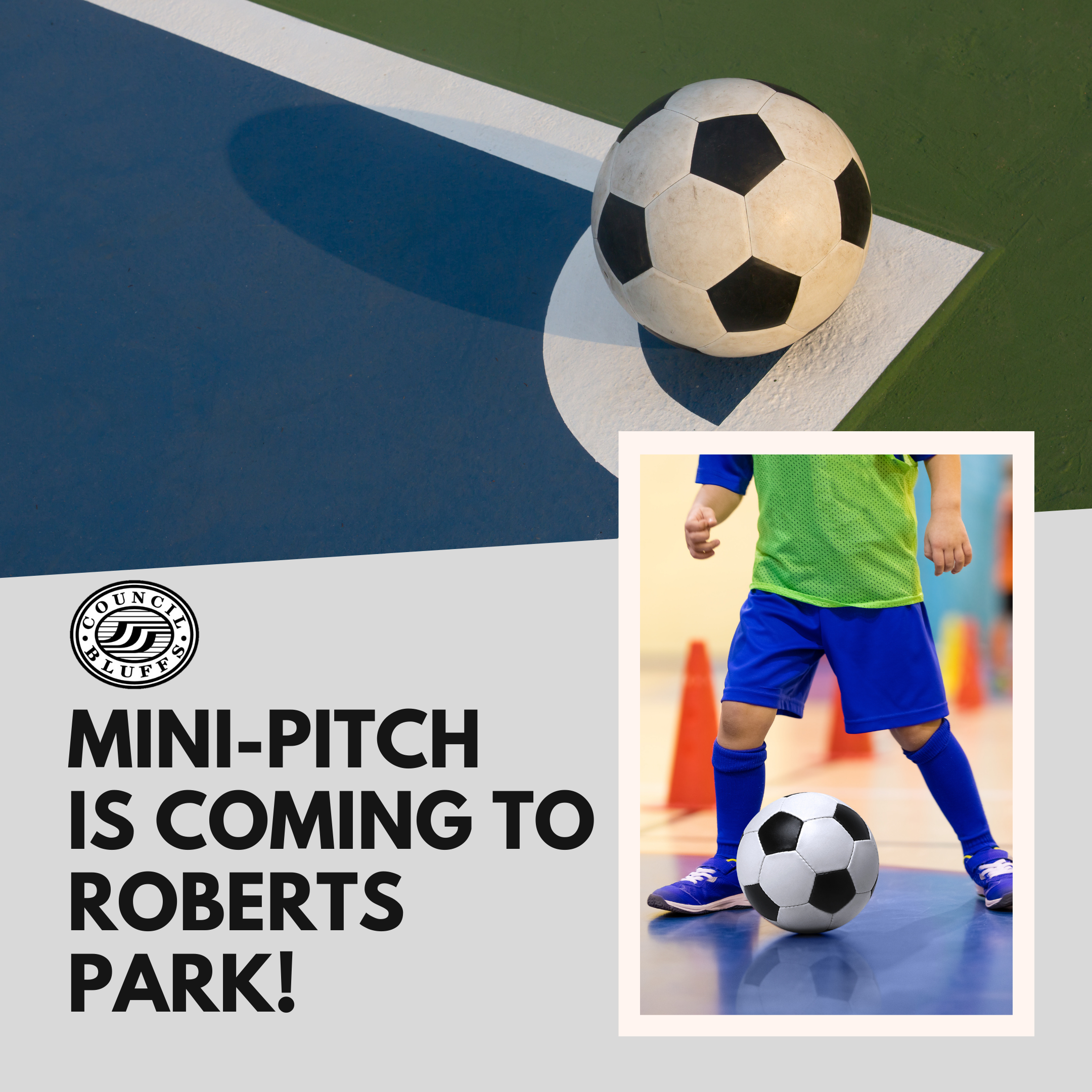 mini pitch at roberts park